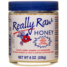 Really Raw Honey Really Raw Honey (Glass) - 8 ozs.