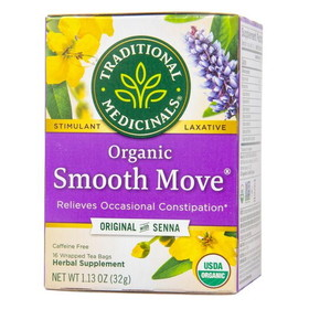 Traditional Medicinals Smooth Move (Herbal Laxative) - 1 box