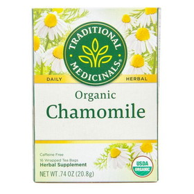 Traditional Medicinals Chamomile Tea, Organic, TE053, Price/1 box