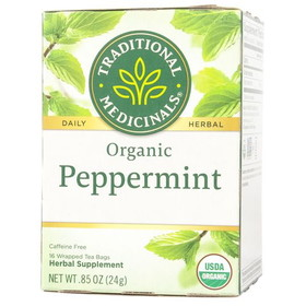 Traditional Medicinals Peppermint Tea, Organic, TE054, Price/1 box