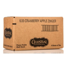 Celestial Seasonings Cranberry Apple Zinger Tea - 6 x 1 box