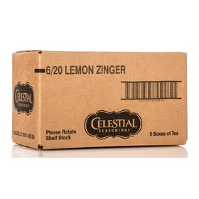 Celestial Seasonings Lemon Zinger Tea - 6 x 1 box