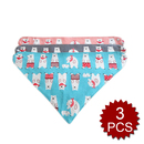 TopTie Baby Bandana Drool Bibs Reversible Cotton Bibs For Teething, 3 Pack