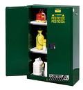 Basco Justrite Pesticide Storage Cabinets 2 Door Manual