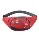 GOGO 3 Zippers Outdoor Fanny Pack Waist Bag For Hiking Travel