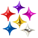 GOGO 50 Pieces 10 Inch Star / Heart Foil Balloons, Party Balloon