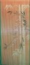 Bamboo54 5274 Orange Scene Curtain