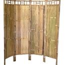 Bamboo54 4 Panel Bamboo Screen