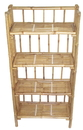 Bamboo54 5403 Bamboo 4 tier folding shelf