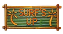 Bamboo54 5625 Bamboo surf's up sign