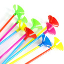 Aspire 100 PCS Balloon Cups with Stick Holder 11 Inch Long, Party / Wedding Decor
