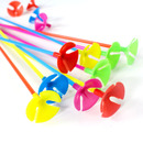Aspire 100 PCS Balloon Cups with Stick Holder 15 Inch Long, Party / Wedding Decor