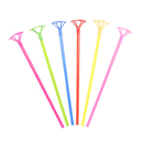 Aspire 100 PCS Balloon Stick with Cup For Mylar Balloon 15 Inch, Party Accessories