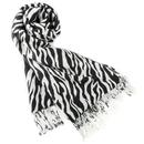 TopTie Zebra Animal Print Pashmina Scarf, Large Size