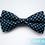 Wholesale Lot 50 Pcs Unisex Fashion Polka Dot Pretied Bow tie, 4 Colors