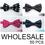Wholesale Lot 50 Pcs Unisex Fashion Polka Dot Pretied Bow tie, 4 Colors