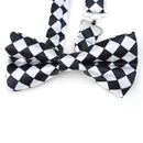 TOPTIE Men's Bow Tie Fashion Patterned Pre-Tied Tuxedo Necktie, 10 Designs