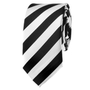 TOPTIE Unisex Fashion Patterned Skinny 2 Inch Necktie, Colorful Stripe Tie