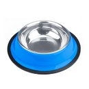 Brybelly 4oz. Blue Stainless Steel Dog Bowl