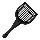 Brybelly Black Cat Litter Scoop with Reinforced Comfort Handle