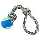 Brybelly Toss'n'Floss Fling Rope with Tennis Ball