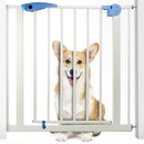 Brybelly Heavy Duty Easy Open Walk-Thru Safety Gate