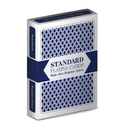 Brybelly Blue Deck, Wide Size, Plastic Coated, Standard Playing Cards