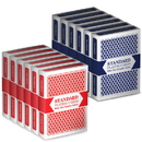 Brybelly 12 Decks (6 Red/6 Blue) Brybelly Cards (Wide/Standard)