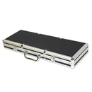 Brybelly 500 Ct Black Aluminum Case with Red Interior