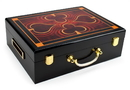 Brybelly 500 Ct Hi-Gloss Wooden Case