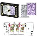 Brybelly Copag 1546 Poker Purple/Gray Jumbo Index