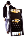 Brybelly Drop Zone Express Customizable Plinko Style Board