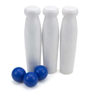 Brybelly Milk Bottle Toss Carnival Game with 3 Balls