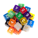 Brybelly 25 Pack of Random D6 Polyhedral Dice in Multiple Colors