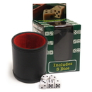 Brybelly Professional Dice Cup with Five Dice