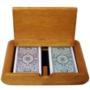 Brybelly Wooden Box Set Arrow Green/Brown Narrow Regular