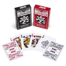 Brybelly Modiano WSOP 2015 Plastic Playing Cards - Red/Black - Bridge
