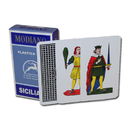 Brybelly 100% PLASTIC Deck of Siciliane Italian Regional Cards