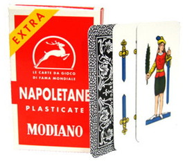 Brybelly Deck of Napoletane 97/25 Italian Regional Playing Cards