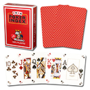 Brybelly Modiano Poker Index - Red