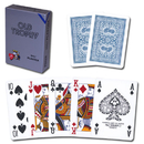Brybelly Modiano Old Trophy Poker Playing Cards - Blue