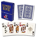 Brybelly Modiano Bike Trophy Jumbo Playing Cards - Blue