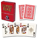 Brybelly Modiano Bike Trophy Jumbo Playing Cards - Red