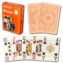 Brybelly Modiano Cristallo Poker Size, 4 PIP Jumbo Orange