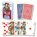 Brybelly 100% Plastic Red Skat Playing Card Deck