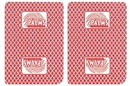 Brybelly Single Deck Used in Casino Playing Cards - Palms