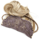 Brybelly #6/613 Chestnut Brown/Platinum - 20 inch Braided Tiara