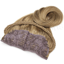 Brybelly #8 Light Brown - 20 inch Braided Tiara