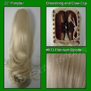 Brybelly #613 Platinum Blonde Ponytail