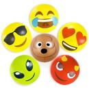 Brybelly 18'' Emoji Beach Bums, 6-pack